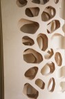 Openwork wall plywood